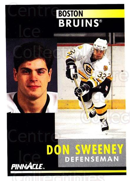 1991-92 Pinnacle #419 Don Sweeney<br/>8 In Stock - $1.00 each - <a href=https://centericecollectibles.foxycart.com/cart?name=1991-92%20Pinnacle%20%23419%20Don%20Sweeney...&quantity_max=8&price=$1.00&code=245713 class=foxycart> Buy it now! </a>