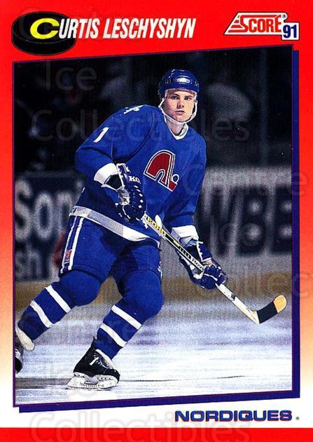 1991-92 Score Canadian Bilingual #58 Curtis Leschyshyn<br/>4 In Stock - $1.00 each - <a href=https://centericecollectibles.foxycart.com/cart?name=1991-92%20Score%20Canadian%20Bilingual%20%2358%20Curtis%20Leschysh...&quantity_max=4&price=$1.00&code=245772 class=foxycart> Buy it now! </a>