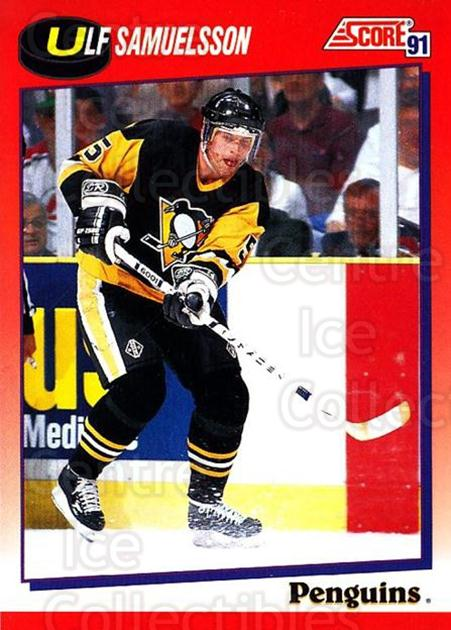 1991-92 Score Canadian Bilingual #82 Ulf Samuelsson<br/>3 In Stock - $1.00 each - <a href=https://centericecollectibles.foxycart.com/cart?name=1991-92%20Score%20Canadian%20Bilingual%20%2382%20Ulf%20Samuelsson...&quantity_max=3&price=$1.00&code=245796 class=foxycart> Buy it now! </a>