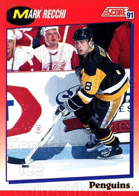 1991-92 Score Canadian Bilingual #145 Mark Recchi<br/>4 In Stock - $1.00 each - <a href=https://centericecollectibles.foxycart.com/cart?name=1991-92%20Score%20Canadian%20Bilingual%20%23145%20Mark%20Recchi...&quantity_max=4&price=$1.00&code=245859 class=foxycart> Buy it now! </a>