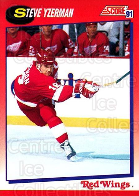 1991-92 Score Canadian Bilingual #190 Steve Yzerman<br/>3 In Stock - $1.00 each - <a href=https://centericecollectibles.foxycart.com/cart?name=1991-92%20Score%20Canadian%20Bilingual%20%23190%20Steve%20Yzerman...&price=$1.00&code=245904 class=foxycart> Buy it now! </a>