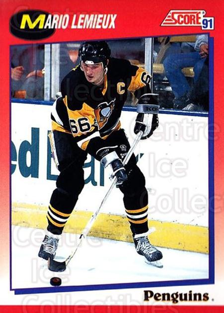 1991-92 Score Canadian Bilingual #200 Mario Lemieux<br/>1 In Stock - $2.00 each - <a href=https://centericecollectibles.foxycart.com/cart?name=1991-92%20Score%20Canadian%20Bilingual%20%23200%20Mario%20Lemieux...&price=$2.00&code=245914 class=foxycart> Buy it now! </a>