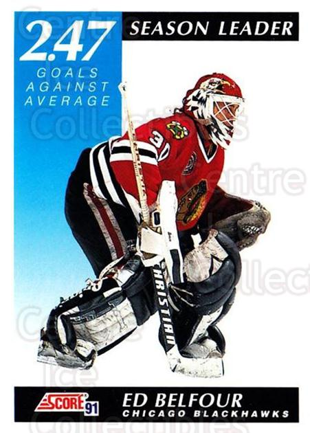 1991-92 Score Canadian Bilingual #301 Ed Belfour<br/>3 In Stock - $1.00 each - <a href=https://centericecollectibles.foxycart.com/cart?name=1991-92%20Score%20Canadian%20Bilingual%20%23301%20Ed%20Belfour...&price=$1.00&code=246015 class=foxycart> Buy it now! </a>
