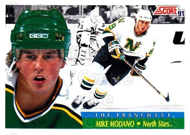 1991-92 Score Canadian Bilingual #313 Mike Modano<br/>4 In Stock - $1.00 each - <a href=https://centericecollectibles.foxycart.com/cart?name=1991-92%20Score%20Canadian%20Bilingual%20%23313%20Mike%20Modano...&quantity_max=4&price=$1.00&code=246027 class=foxycart> Buy it now! </a>