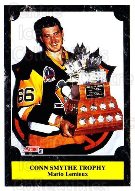 1991-92 Score Canadian Bilingual #316 Mario Lemieux, Conn Smyth Trophy<br/>1 In Stock - $2.00 each - <a href=https://centericecollectibles.foxycart.com/cart?name=1991-92%20Score%20Canadian%20Bilingual%20%23316%20Mario%20Lemieux,%20...&price=$2.00&code=246030 class=foxycart> Buy it now! </a>