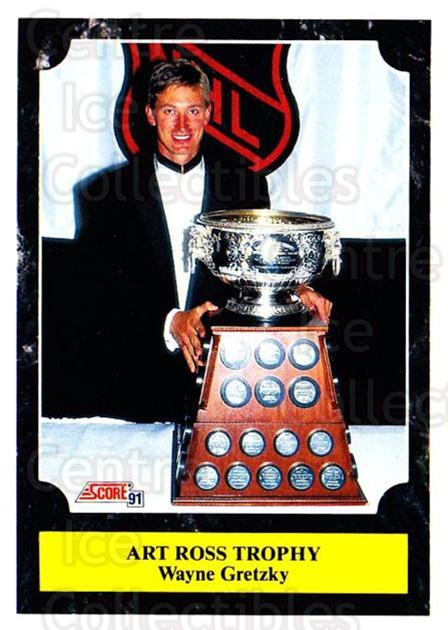 1991-92 Score Canadian Bilingual #317 Wayne Gretzky, Art Ross Trophy<br/>3 In Stock - $2.00 each - <a href=https://centericecollectibles.foxycart.com/cart?name=1991-92%20Score%20Canadian%20Bilingual%20%23317%20Wayne%20Gretzky,%20...&price=$2.00&code=246031 class=foxycart> Buy it now! </a>