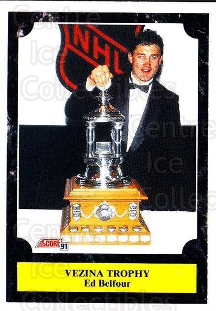 1991-92 Score Canadian Bilingual #321 Ed Belfour, Vezina Trophy<br/>4 In Stock - $1.00 each - <a href=https://centericecollectibles.foxycart.com/cart?name=1991-92%20Score%20Canadian%20Bilingual%20%23321%20Ed%20Belfour,%20Vez...&price=$1.00&code=246035 class=foxycart> Buy it now! </a>