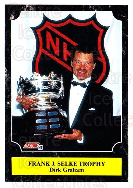 1991-92 Score Canadian Bilingual #322 Dirk Graham, Selke Trophy<br/>4 In Stock - $1.00 each - <a href=https://centericecollectibles.foxycart.com/cart?name=1991-92%20Score%20Canadian%20Bilingual%20%23322%20Dirk%20Graham,%20Se...&quantity_max=4&price=$1.00&code=246036 class=foxycart> Buy it now! </a>
