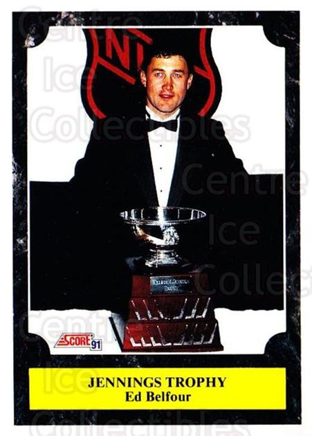 1991-92 Score Canadian Bilingual #323 Ed Belfour, Jennings Trophy<br/>3 In Stock - $1.00 each - <a href=https://centericecollectibles.foxycart.com/cart?name=1991-92%20Score%20Canadian%20Bilingual%20%23323%20Ed%20Belfour,%20Jen...&price=$1.00&code=246037 class=foxycart> Buy it now! </a>