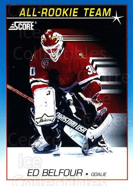 1991-92 Score Canadian Bilingual #378 Ed Belfour<br/>1 In Stock - $1.00 each - <a href=https://centericecollectibles.foxycart.com/cart?name=1991-92%20Score%20Canadian%20Bilingual%20%23378%20Ed%20Belfour...&price=$1.00&code=246092 class=foxycart> Buy it now! </a>