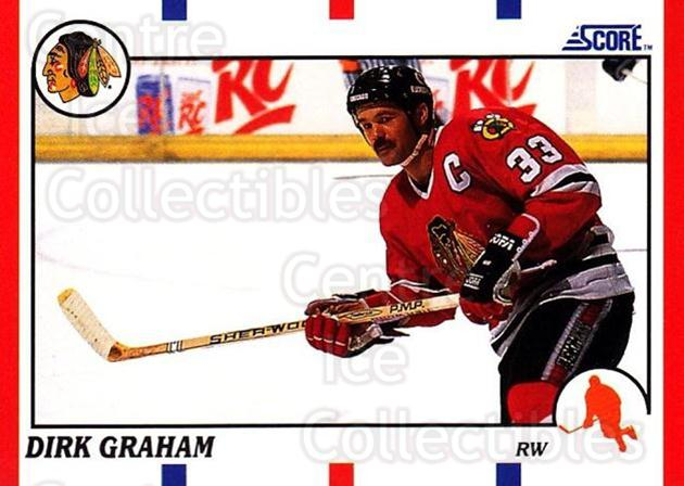1990-91 Score USA #17 Dirk Graham<br/>7 In Stock - $1.00 each - <a href=https://centericecollectibles.foxycart.com/cart?name=1990-91%20Score%20USA%20%2317%20Dirk%20Graham...&quantity_max=7&price=$1.00&code=246391 class=foxycart> Buy it now! </a>