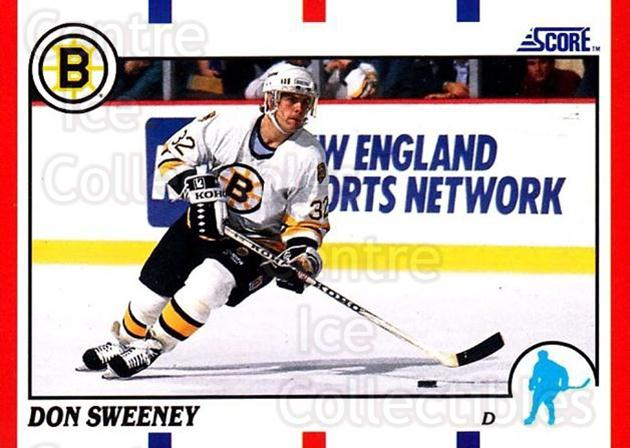1990-91 Score USA #51 Don Sweeney<br/>6 In Stock - $1.00 each - <a href=https://centericecollectibles.foxycart.com/cart?name=1990-91%20Score%20USA%20%2351%20Don%20Sweeney...&quantity_max=6&price=$1.00&code=246425 class=foxycart> Buy it now! </a>