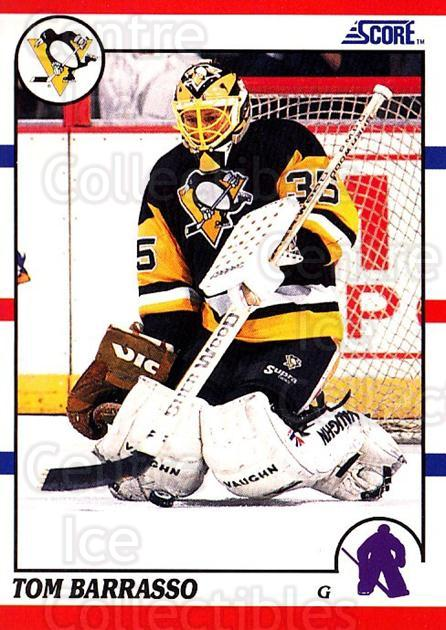 1990-91 Score USA #121 Tom Barrasso<br/>7 In Stock - $1.00 each - <a href=https://centericecollectibles.foxycart.com/cart?name=1990-91%20Score%20USA%20%23121%20Tom%20Barrasso...&price=$1.00&code=246495 class=foxycart> Buy it now! </a>