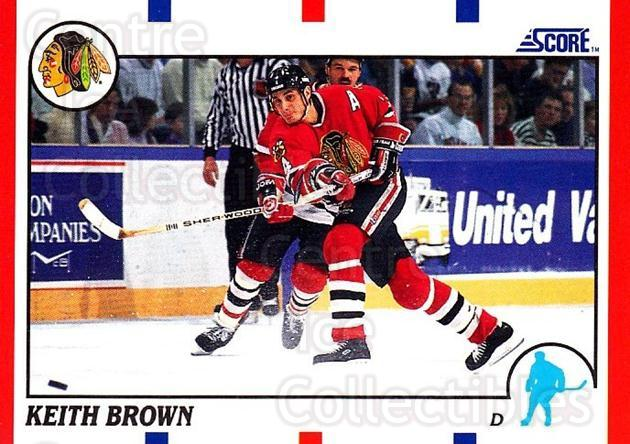 1990-91 Score USA #161 Keith Brown<br/>7 In Stock - $1.00 each - <a href=https://centericecollectibles.foxycart.com/cart?name=1990-91%20Score%20USA%20%23161%20Keith%20Brown...&quantity_max=7&price=$1.00&code=246535 class=foxycart> Buy it now! </a>