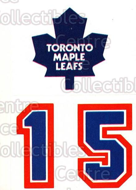 1985-86 Topps Stickers Insert #13 Toronto Maple Leafs<br/>5 In Stock - $1.00 each - <a href=https://centericecollectibles.foxycart.com/cart?name=1985-86%20Topps%20Stickers%20Insert%20%2313%20Toronto%20Maple%20L...&price=$1.00&code=24657 class=foxycart> Buy it now! </a>