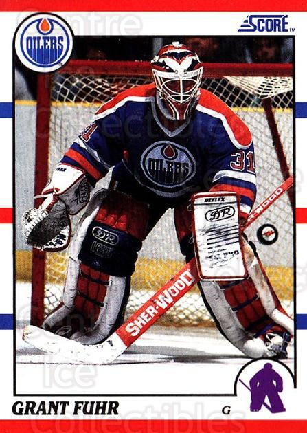 1990-91 Score USA #275 Grant Fuhr<br/>7 In Stock - $1.00 each - <a href=https://centericecollectibles.foxycart.com/cart?name=1990-91%20Score%20USA%20%23275%20Grant%20Fuhr...&quantity_max=7&price=$1.00&code=246649 class=foxycart> Buy it now! </a>