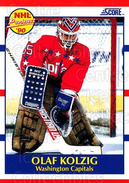 1990-91 Score USA #392 Olaf Kolzig<br/>7 In Stock - $1.00 each - <a href=https://centericecollectibles.foxycart.com/cart?name=1990-91%20Score%20USA%20%23392%20Olaf%20Kolzig...&quantity_max=7&price=$1.00&code=246766 class=foxycart> Buy it now! </a>