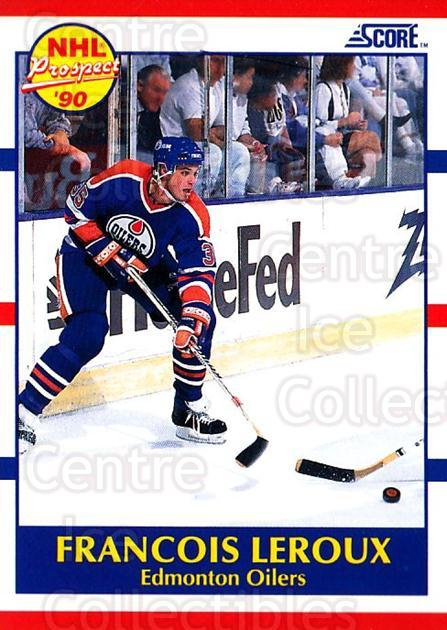 1990-91 Score USA #393 Francois Leroux<br/>5 In Stock - $1.00 each - <a href=https://centericecollectibles.foxycart.com/cart?name=1990-91%20Score%20USA%20%23393%20Francois%20Leroux...&quantity_max=5&price=$1.00&code=246767 class=foxycart> Buy it now! </a>