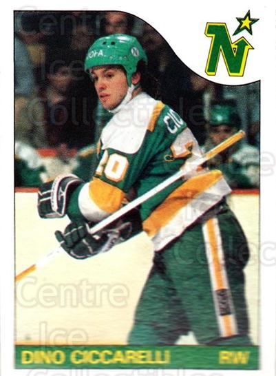 1985-86 Topps #13 Dino Ciccarelli<br/>2 In Stock - $1.00 each - <a href=https://centericecollectibles.foxycart.com/cart?name=1985-86%20Topps%20%2313%20Dino%20Ciccarelli...&quantity_max=2&price=$1.00&code=24712 class=foxycart> Buy it now! </a>