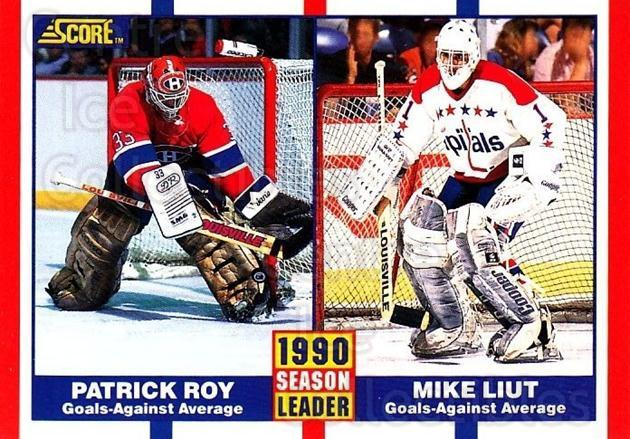 1990-91 Score Canadian #354 Patrick Roy, Mike Liut<br/>2 In Stock - $2.00 each - <a href=https://centericecollectibles.foxycart.com/cart?name=1990-91%20Score%20Canadian%20%23354%20Patrick%20Roy,%20Mi...&quantity_max=2&price=$2.00&code=247168 class=foxycart> Buy it now! </a>