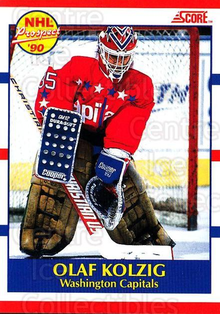 1990-91 Score Canadian #392 Olaf Kolzig<br/>2 In Stock - $1.00 each - <a href=https://centericecollectibles.foxycart.com/cart?name=1990-91%20Score%20Canadian%20%23392%20Olaf%20Kolzig...&quantity_max=2&price=$1.00&code=247206 class=foxycart> Buy it now! </a>