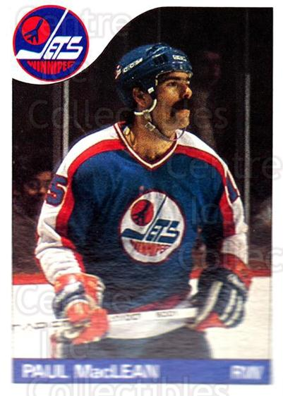 1985-86 Topps #145 Paul MacLean<br/>4 In Stock - $1.00 each - <a href=https://centericecollectibles.foxycart.com/cart?name=1985-86%20Topps%20%23145%20Paul%20MacLean...&quantity_max=4&price=$1.00&code=24728 class=foxycart> Buy it now! </a>