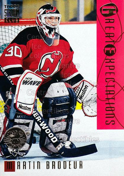 1994-95 Stadium Club Super Team Winner Redeemed #119 Martin Brodeur<br/>3 In Stock - $5.00 each - <a href=https://centericecollectibles.foxycart.com/cart?name=1994-95%20Stadium%20Club%20Super%20Team%20Winner%20Redeemed%20%23119%20Martin%20Brodeur...&price=$5.00&code=247302 class=foxycart> Buy it now! </a>