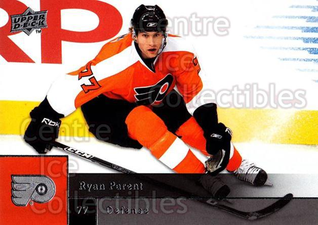 2009-10 Upper Deck #38 Ryan Parent<br/>6 In Stock - $1.00 each - <a href=https://centericecollectibles.foxycart.com/cart?name=2009-10%20Upper%20Deck%20%2338%20Ryan%20Parent...&quantity_max=6&price=$1.00&code=247368 class=foxycart> Buy it now! </a>