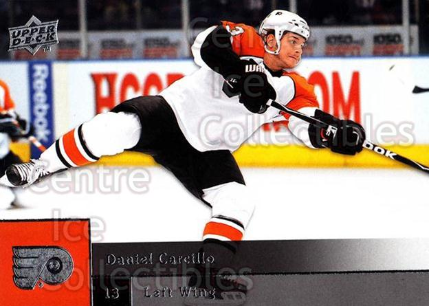2009-10 Upper Deck #40 Daniel Carcillo<br/>7 In Stock - $1.00 each - <a href=https://centericecollectibles.foxycart.com/cart?name=2009-10%20Upper%20Deck%20%2340%20Daniel%20Carcillo...&quantity_max=7&price=$1.00&code=247370 class=foxycart> Buy it now! </a>
