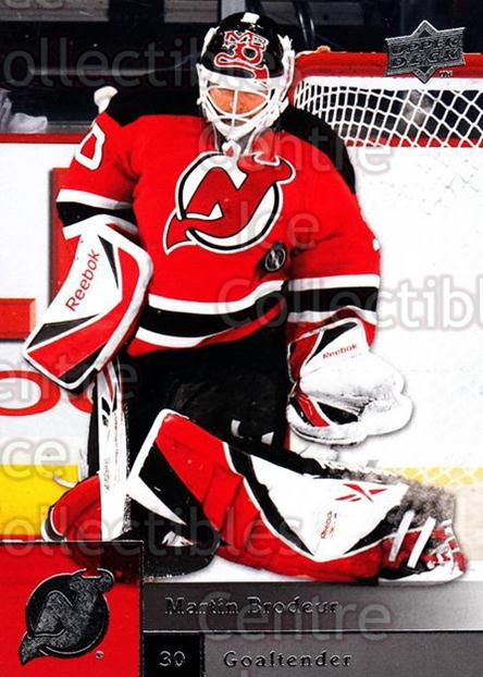 2009-10 Upper Deck #50 Martin Brodeur<br/>5 In Stock - $2.00 each - <a href=https://centericecollectibles.foxycart.com/cart?name=2009-10%20Upper%20Deck%20%2350%20Martin%20Brodeur...&quantity_max=5&price=$2.00&code=247380 class=foxycart> Buy it now! </a>