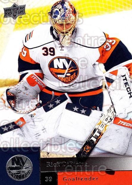 2009-10 Upper Deck #57 Rick DiPietro<br/>7 In Stock - $1.00 each - <a href=https://centericecollectibles.foxycart.com/cart?name=2009-10%20Upper%20Deck%20%2357%20Rick%20DiPietro...&quantity_max=7&price=$1.00&code=247387 class=foxycart> Buy it now! </a>