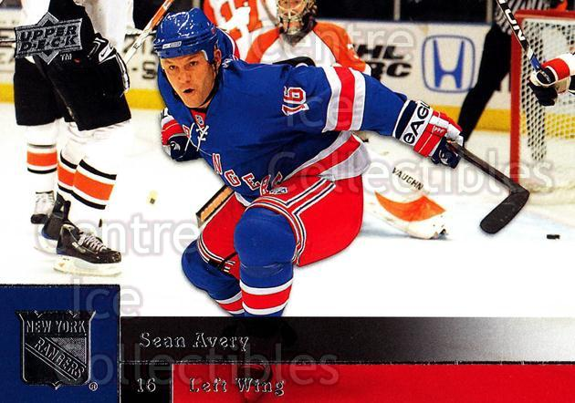 2009-10 Upper Deck #63 Sean Avery<br/>8 In Stock - $1.00 each - <a href=https://centericecollectibles.foxycart.com/cart?name=2009-10%20Upper%20Deck%20%2363%20Sean%20Avery...&quantity_max=8&price=$1.00&code=247393 class=foxycart> Buy it now! </a>