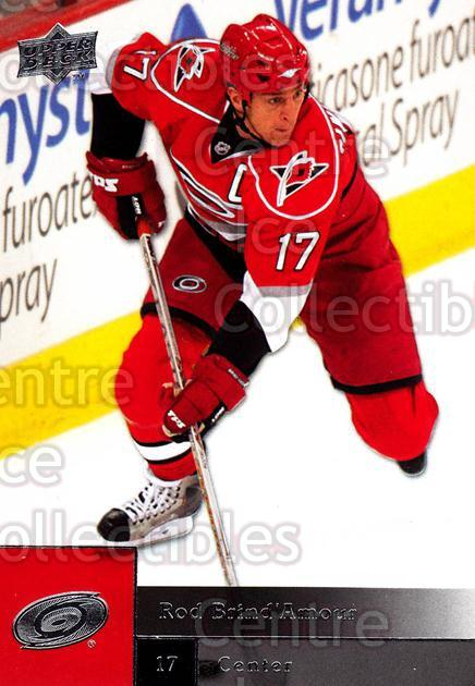 2009-10 Upper Deck #81 Rod Brind'Amour<br/>6 In Stock - $1.00 each - <a href=https://centericecollectibles.foxycart.com/cart?name=2009-10%20Upper%20Deck%20%2381%20Rod%20Brind'Amour...&quantity_max=6&price=$1.00&code=247411 class=foxycart> Buy it now! </a>