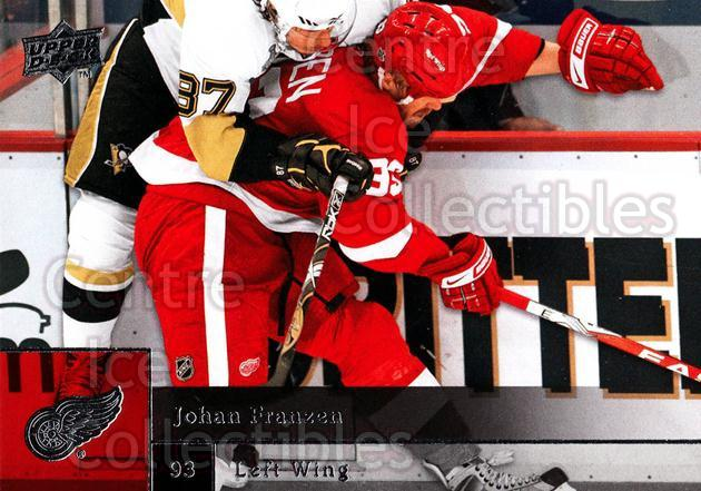 2009-10 Upper Deck #122 Johan Franzen<br/>8 In Stock - $1.00 each - <a href=https://centericecollectibles.foxycart.com/cart?name=2009-10%20Upper%20Deck%20%23122%20Johan%20Franzen...&quantity_max=8&price=$1.00&code=247452 class=foxycart> Buy it now! </a>