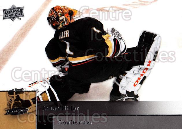 2009-10 Upper Deck #146 Jonas Hiller<br/>5 In Stock - $1.00 each - <a href=https://centericecollectibles.foxycart.com/cart?name=2009-10%20Upper%20Deck%20%23146%20Jonas%20Hiller...&quantity_max=5&price=$1.00&code=247476 class=foxycart> Buy it now! </a>