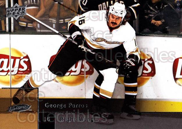 2009-10 Upper Deck #150 George Parros<br/>7 In Stock - $1.00 each - <a href=https://centericecollectibles.foxycart.com/cart?name=2009-10%20Upper%20Deck%20%23150%20George%20Parros...&quantity_max=7&price=$1.00&code=247480 class=foxycart> Buy it now! </a>