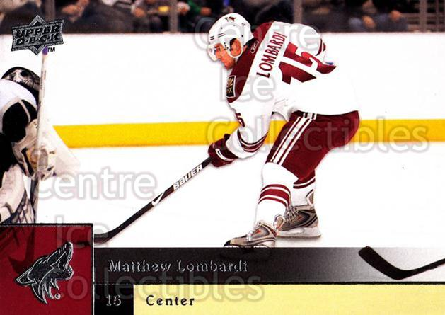 2009-10 Upper Deck #162 Matthew Lombardi<br/>7 In Stock - $1.00 each - <a href=https://centericecollectibles.foxycart.com/cart?name=2009-10%20Upper%20Deck%20%23162%20Matthew%20Lombard...&quantity_max=7&price=$1.00&code=247492 class=foxycart> Buy it now! </a>