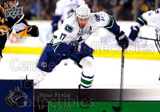 2009-10 Upper Deck #170 Ryan Kesler<br/>8 In Stock - $1.00 each - <a href=https://centericecollectibles.foxycart.com/cart?name=2009-10%20Upper%20Deck%20%23170%20Ryan%20Kesler...&quantity_max=8&price=$1.00&code=247500 class=foxycart> Buy it now! </a>