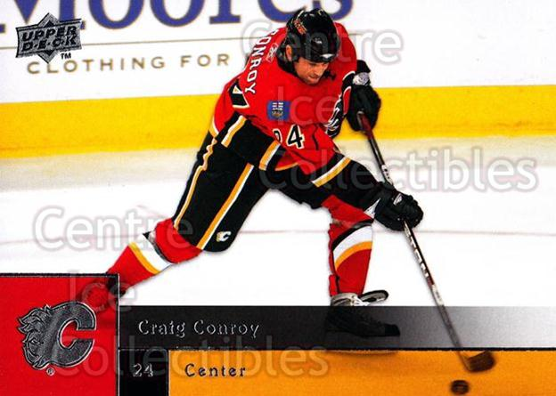 2009-10 Upper Deck #174 Craig Conroy<br/>7 In Stock - $1.00 each - <a href=https://centericecollectibles.foxycart.com/cart?name=2009-10%20Upper%20Deck%20%23174%20Craig%20Conroy...&quantity_max=7&price=$1.00&code=247504 class=foxycart> Buy it now! </a>