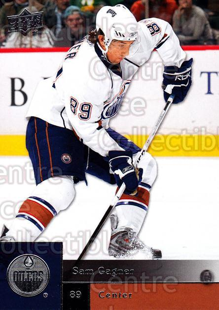 2009-10 Upper Deck #192 Sam Gagner<br/>6 In Stock - $1.00 each - <a href=https://centericecollectibles.foxycart.com/cart?name=2009-10%20Upper%20Deck%20%23192%20Sam%20Gagner...&quantity_max=6&price=$1.00&code=247522 class=foxycart> Buy it now! </a>