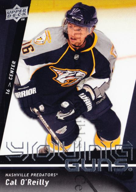 2009-10 Upper Deck #233 Cal O'Reilly<br/>4 In Stock - $5.00 each - <a href=https://centericecollectibles.foxycart.com/cart?name=2009-10%20Upper%20Deck%20%23233%20Cal%20O'Reilly...&quantity_max=4&price=$5.00&code=247563 class=foxycart> Buy it now! </a>