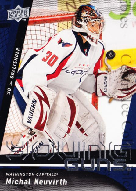 2009-10 Upper Deck #235 Michal Neuvirth<br/>2 In Stock - $5.00 each - <a href=https://centericecollectibles.foxycart.com/cart?name=2009-10%20Upper%20Deck%20%23235%20Michal%20Neuvirth...&quantity_max=2&price=$5.00&code=247565 class=foxycart> Buy it now! </a>