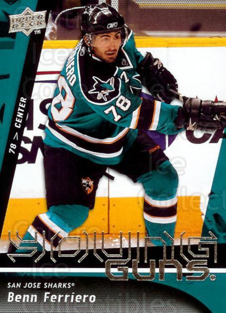 2009-10 Upper Deck #237 Benn Ferriero<br/>9 In Stock - $5.00 each - <a href=https://centericecollectibles.foxycart.com/cart?name=2009-10%20Upper%20Deck%20%23237%20Benn%20Ferriero...&quantity_max=9&price=$5.00&code=247567 class=foxycart> Buy it now! </a>