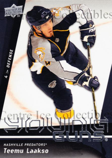 2009-10 Upper Deck #238 Teemu Laakso<br/>7 In Stock - $5.00 each - <a href=https://centericecollectibles.foxycart.com/cart?name=2009-10%20Upper%20Deck%20%23238%20Teemu%20Laakso...&quantity_max=7&price=$5.00&code=247568 class=foxycart> Buy it now! </a>