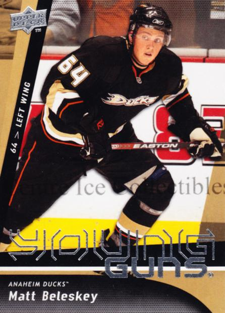 2009-10 Upper Deck #240 Matt Beleskey<br/>8 In Stock - $5.00 each - <a href=https://centericecollectibles.foxycart.com/cart?name=2009-10%20Upper%20Deck%20%23240%20Matt%20Beleskey...&quantity_max=8&price=$5.00&code=247570 class=foxycart> Buy it now! </a>