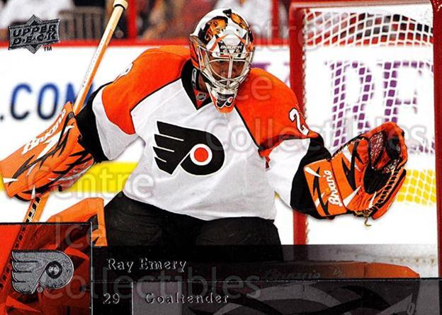 2009-10 Upper Deck #291 Ray Emery<br/>14 In Stock - $1.00 each - <a href=https://centericecollectibles.foxycart.com/cart?name=2009-10%20Upper%20Deck%20%23291%20Ray%20Emery...&quantity_max=14&price=$1.00&code=247621 class=foxycart> Buy it now! </a>