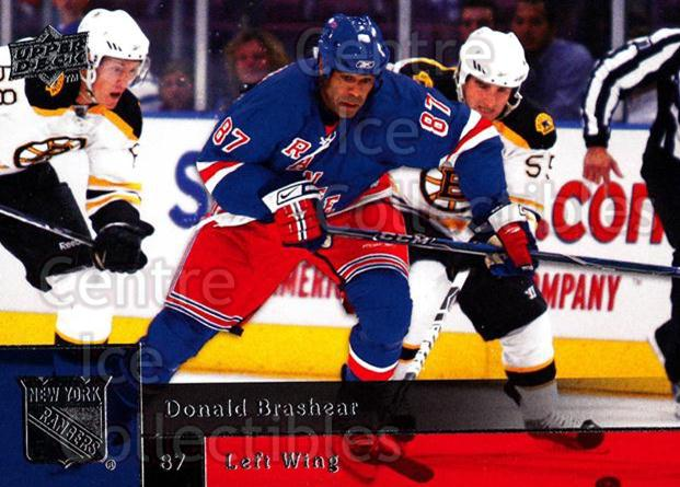 2009-10 Upper Deck #316 Donald Brashear<br/>14 In Stock - $1.00 each - <a href=https://centericecollectibles.foxycart.com/cart?name=2009-10%20Upper%20Deck%20%23316%20Donald%20Brashear...&quantity_max=14&price=$1.00&code=247646 class=foxycart> Buy it now! </a>
