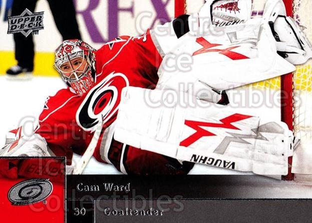 2009-10 Upper Deck #331 Cam Ward<br/>14 In Stock - $1.00 each - <a href=https://centericecollectibles.foxycart.com/cart?name=2009-10%20Upper%20Deck%20%23331%20Cam%20Ward...&quantity_max=14&price=$1.00&code=247661 class=foxycart> Buy it now! </a>