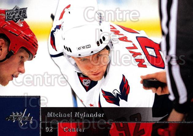 2009-10 Upper Deck #347 Michael Nylander<br/>15 In Stock - $1.00 each - <a href=https://centericecollectibles.foxycart.com/cart?name=2009-10%20Upper%20Deck%20%23347%20Michael%20Nylande...&quantity_max=15&price=$1.00&code=247677 class=foxycart> Buy it now! </a>