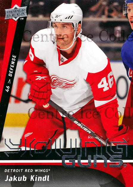 2009-10 Upper Deck #465 Jakub Kindl<br/>2 In Stock - $5.00 each - <a href=https://centericecollectibles.foxycart.com/cart?name=2009-10%20Upper%20Deck%20%23465%20Jakub%20Kindl...&quantity_max=2&price=$5.00&code=247795 class=foxycart> Buy it now! </a>